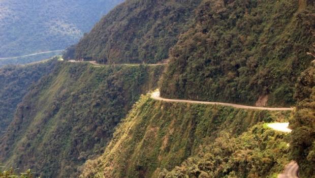 Estrada-de-Yungas-Bolivia