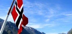 Bandeira-da-Noruega